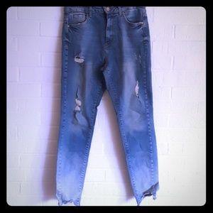 Zara high-Rise skinny jeans size 6 NWT